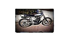 1976 husqvarna Bike Motorcycle A4 Photo Poster