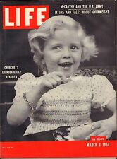 Life Magazine March 8 1954 Birthday, Facts about Being Overweight VG 042116DBE