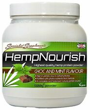 HempNourish 500g Choc & Mint Flavour Beneficial Herbs and Superfoods Supplement