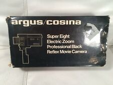 Vintage Argus Cosina 718 Super Eight Video Camera With Box