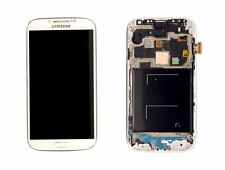 OEM White Samsung Galaxy S4 i9505 i337 M919 LCD Touch Screen Digitizer + Frame