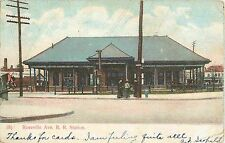 D.L.&W. Roseville Station, Morris Essex R.R., Roseville Newark NJ 1907