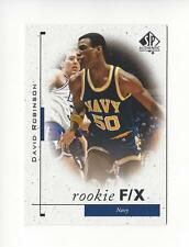 2011-12 SP Authentic #59 David Robinson FX Spurs Navy