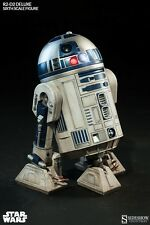 SIDESHOW COLLECTIBLES STAR WARS 1/6 R2-D2 DELUXE ASTRO DROID FIGURE SS2172