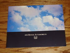 Original 1993 Honda Full Line Sales Brochure 93 Accord Civic del Sol