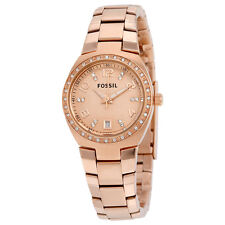 Fossil Rose Gold-tone Ladies Watch AM4508