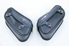 06-15 SUZUKI BOULEVARD M109R LEFT RIGHT SIDE CARGO LUGGAGE SADDLEBAG BAG