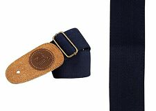 1512 BLUE guitar strap leather head style jazz semi acoustic electric any