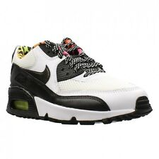 NEW 833477-100 GS GIRL'S YOUTH NIKE AIR MAX 90 FB WHITE BLACK sz 4.5Y WOMENS 6