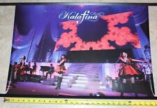 "Kalafina promo poster ""Red Day"" 2015 live concert video 73mx52cm (28.7""x20.4"")"