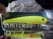 Mann's (NEW)Textured Stretch 30+ BIGFISH Trolling Lure T30-07 Color CHARTREUSE