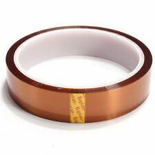 20mm 100ft Gold Kapton Tape High Temperature Heat Resistant Polyimide BGA G