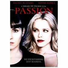 PASSION (DVD) 2013 RACHAEL MCADAMS, NOOMI RAPACE USED VERY GOOD