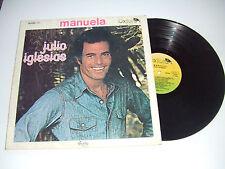Julio Iglesias – Manuela - Disco 33 Giri LP Album Vinile ITALIA 1978 Pop latin