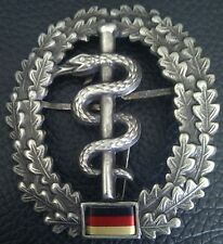 ✚1162✚ German army Bundeswehr beret cap metal badge MEDIC CORPS SANITATSTRUPPE