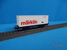 Marklin 4481 DB Container Car MÄRKLIN