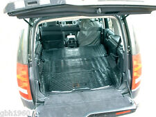 Land Rover Discovery 3 2004-09 tough anti slip rubber boot load liner mats x2