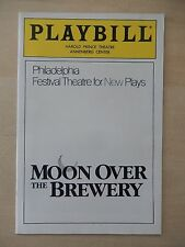 April 1989 - Harold Prince Theatre Playbill - Moon Over The Brewery - Debra Monk