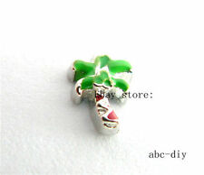 10pcs PALM TREE Floating charms For Glass memory Locket Free shipping 653