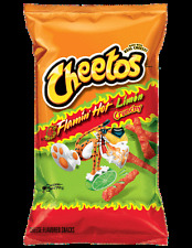 2 Bags of Flamin' Hot Limon Cheetos 9.5 oz Flamin' Hots and MLB Games