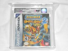 NEW Digimon Battle Spirit 2 Nintendo GameBoy Advance VGA 80+ NM Silver GBA ADV