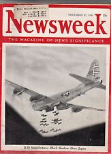 1944 Newsweek November 27 - Patton's Third Army strikes Metz;Himmler takes reins