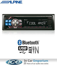 Alpine CDE-103BT car stereo, CD USB AUX Bluetooth Handsfree radio