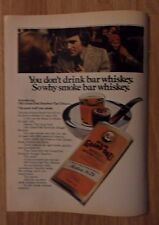 1973 Print Ad Old Grand-Dad Bourbon Pipe Tobacco ~ The Good Stuff You Smoke