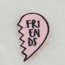 Friends letter Embroidery voice emotions Iron on patch applique cartoon Motif