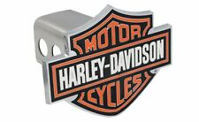 Harley Davidson Colored 3D Bar and Shield Metal Emblem Tow Hitch Cover