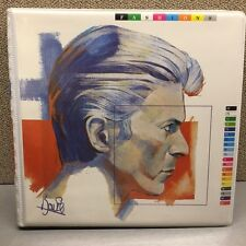 """David Bowie Fashions 10 x 2-Sided, 7"""" Vinyl Picture Disc 45's in Collector Case"""