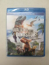 Walking With Dinosaurs (Blu-ray/DVD, 2014, 2-Disc Set), Used, Discs are Good