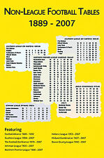 Non-League Football Tables 1889-2007 - Soccer Statistics book - Conference