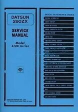 DATSUN 280ZX 1979 Shop Manual Book Catalogue paper