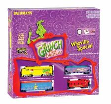 HO Bachmann Grinch's Whoville Special Train Set 00658