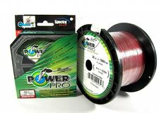 Power Pro Braided Spectra Line 40lb by 300yds Red (4892)