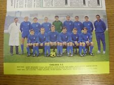 1967/1968 Football League Review: Vol 2 No 28 - Colour Picture - Chelsea [Park D