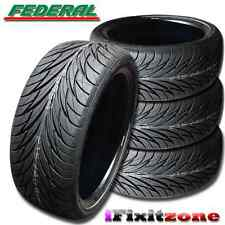 4 Federal SS-595 195/45R15 78V Ultra High Perofrmance Tire 195/45/15 NEW