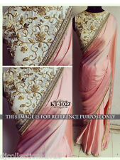 Designer Wear Lycra Georgette Stylish Saree