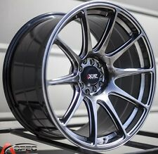 "18X8.75"" XXR 527 WHEELS 5X100/114.3 CHROMIUM RIMS ET35MM FITS STI 2008-2013"
