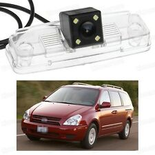 4 LED Car Rear View Camera Reverse Backup CCD Fit for Kia Sedona 2006-2014