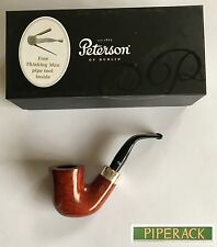 NEW Peterson Pipe Silver Band Sherlock Army X11 (Free Pipe Tool) RARE