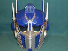 TRANSFORMERS OPTIMUS PRIME HELMET MASK TALKING SOUNDS HASBRO 2006 HALLOWEEN