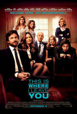 This is Where I Leave You - original DS movie poster - D/S 27x40