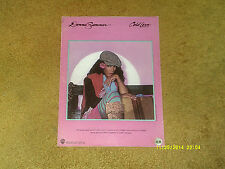 Donna Summer sheet music Cold Love 1980 6 pages (VG+ shape)