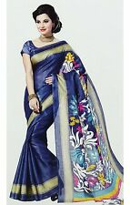 Party Wear Sari Indian Ethnic Designer Bollywood wedding Saree Dress