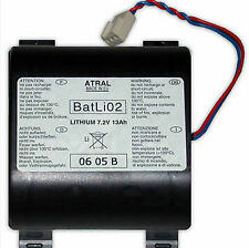 LOGISTY BATLI02 BATTERIA AL LITIO ORIGINALE LOGISTY 7,2V 13AH
