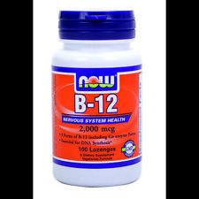 B-12 100 Lozenges 2000 mcg by Now Foods