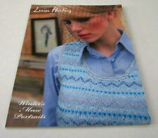 Louisa Harding WINTERS MUSE PORTRAITS Knitting Pattern Book 14 Designs for Women