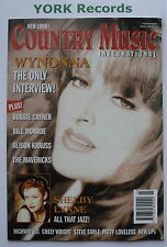COUNTRY MUSIC INTERNATIONAL MAGAZINE - March 1996 - Wynonna / Bobbie Cryner